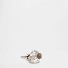 SILVER-COLOURED KNOB (SET OF 2) - Knobs - Decoration | Zara Home United States of America
