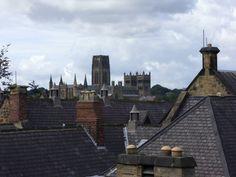 Rooftops of Durham, UK