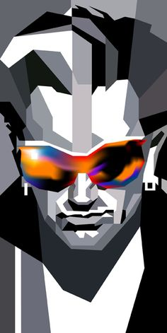 Bono in WPAP by wedhahai on DeviantArt