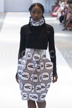 Tumisola Ladega Design Catwalk at Africa Fashion Week London 2013
