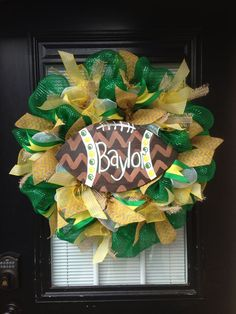 Baylor wreath