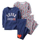 Note: To help keep children safe, cotton pjs should always fit snugly. She'll have super awesome style at every sleepover with these pjs.<br>