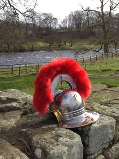 a visit to hadrians wall and meeting a roman soldier
