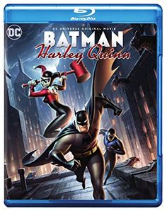 """Get Batman and Harley Quinn DVD and Blu-ray release date, trailer, movie poster and movie stats. For fans of the legendary Batman character, """"Batman and Harley Quinn"""" displays a scenario in which Batman needs the help of the always funny Harley. Nightwing, Harley Quinn, Poison Ivy, Dc Universe, Kevin Conroy, Dc Comics, Batman The Animated Series, Bruce Timm, Dvd"""