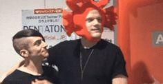 Scott's crab hat! XD