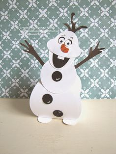 Olaf Curvy Keepsake from Stampin' Up!