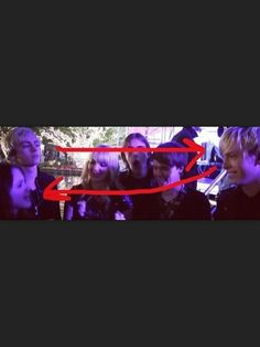 riker sayin in his head to laura: laura is so cute. ross sayin in his head to riker: makin googley eyes at my girlfriend ima get you
