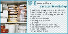 Freezer workshop