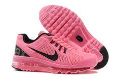 Nike Air Max+ 2013 Women's Running Shoes - Sweet Pink / Black