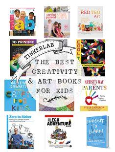 The Year's Best Art and Creativity Books for Kids - TinkerLab 2013 libri interessanti! Art Books For Kids, Childrens Books, Art For Kids, My Books, Children's Literature, Art Classroom, Creative Kids, Elementary Art, Teaching Art