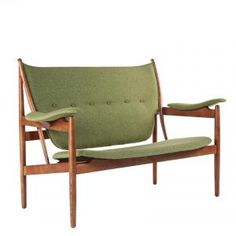 The Sterling Love Seat - Green