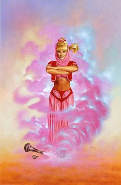 I Dream of Jeannie by JoeJusko.deviantart.com on @deviantART