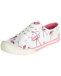 Rocket Dog Womens Jazzin Flamingo Sneakers