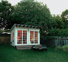 Writer's studio.   I need this in my backyard.