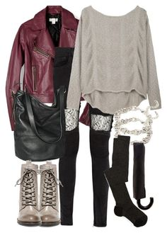 """""""Malia Inspired Rainy Day Outfit"""" by veterization ❤ liked on Polyvore featuring FOSSIL, Vinti Andrews, Helmut Lang, Merona, Steve Madden, Forever 21, Oasis and Missoni"""