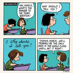 Peanuts - why should I tell you?