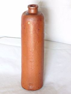 Bouteille en grés vintage  28 cm