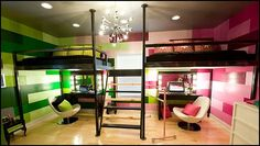 shared bedrooms ideas - decorating shared bedrooms - siblings sharing bedroom - shared bedroom spaces