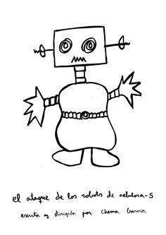 El ataque de los robots de nebulosa-5