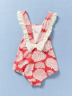 Adorable baby swimsuit- this is the back view.
