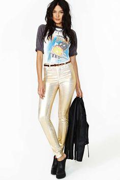 Sun Snake Skinny Jeans