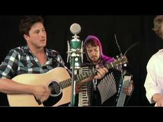 London's Mumford & Sons play with a unique blend of country, bluegrass, and indie-folk that's quickly turning them into an band to watch. The four-piece indie folk phenoms were in fine form as they played through their acoustic set at the SPIN HQ in New York City. Recorded on February 18, 2010