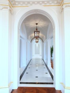 The Stone Mansion In Alpine New Jersey A Hallway At Frick