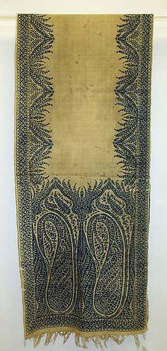 1812 - 1820 Wool Scarf