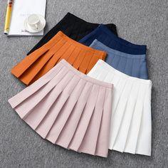 Student Tennis Pleated Skirt KW178954