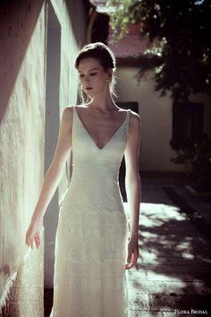 Flora Bridal 2014 Wedding Dresses | Wedding Inspirasi