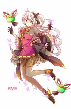Eve (Elsword) Cute NyoX Almost looks like a maho girls precure member