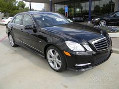 2012 Mercedes E350 - classiest car on the road. i must have!