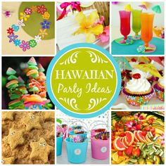 Here are some great Hawaiian party ideas! | catchmyparty.com