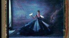 Working on the intersection between fashion- and art-photography, German-born photographer Cathleen Naundorf creates painterly images that transport present-day haute couture to a world of exotic glamour and bygone grandeur.
