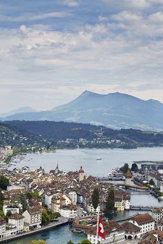 Beautiful Lucerne, Switzerland.