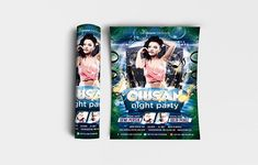 """Ciusan Night Party Flyer Template Features • Size: 1275×1875px (4×6"""") Bleeds 0.25"""" • Fully editable + Full layered • Photoshop Version: CS5 or Higher • Resolution: 300dpi • CMYK Colors Notes • Model not included in download file. #abstract #advertising #backdrop #background #banner #blue #bright #brochure #card #celebration #ciusan #club #clubbing #concert #cool #cover #creative #dance #design #disco #discotheque #dj #electro #entertainment #event #fashion #flyer #fun #glow #graphic #holida Dj Electro, Backdrop Background, Party Flyer, Print Templates, Flyer Template, First Names, Backdrops, Photoshop, Night"""