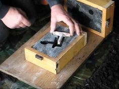 Metal Casting at Home Part 21 Core  Mould Making Casting  Machining