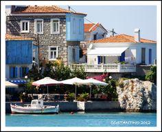 Kokkari is on de northern part of de island, Samos, North Aegean_ Greece