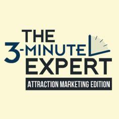 The 3 Minute Expert Attraction Marketing Edition http://coachmikemacdonald.com/the-3-minute-expert-attraction-marketing-edition/ #Attractionmarketing #networkmarketing #homebusiness #blogging #bloggingtips #bloggingforbusiness
