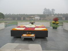 Raj Ghat - Gandhi Memorial - Delhi, 12/23/13 destination.