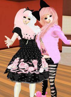 Tachi & Anko ♥  Captured Inside IMVU - Join the Fun!