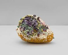 Decoration and Decay: Moldy Fruit Sculptures Formed From Gemstones | CutesyPooh