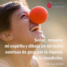 Sonríe a la vida. #Milagros #Confianza #Jesús #Dios #Fe #Católico #Iglesia #Prójimo #MensajedelDia