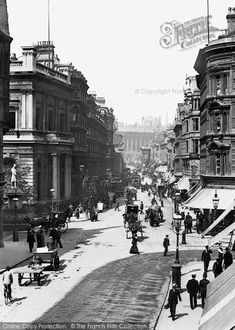 Photo of Birmingham, New Street 1890 from Francis Frith Birmingham News, Birmingham City Centre, Birmingham England, Old Pictures, Old Photos, West Midlands, Working Class, Local History, Old Buildings