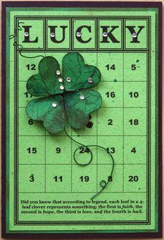 Frantic Stamper Happenings: Happy St. Patrick's Day!