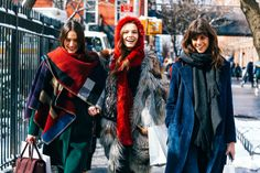 Street Looks at New York Fashion Week Fall/Winter 2015-2016 82