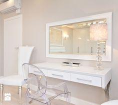 Aranżacje wnętrz - Sypialnia: Średnia sypialnia małżeńska, styl glamour - Fawre…