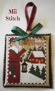 Mii Stitch: The Night Before Christmas - The Prairie Schooler