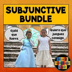 Oh no! Not the Spanish subjunctive again! No need to worry. This unit has everything you need to spice up the present Spanish subjuntivo (games, songs, web activities, quizzes, tests, a teaching guide, funny animal pics for memes, and so much more).