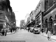 Bradford, Darley Street c.1950, from Francis Frith